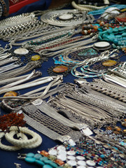 Jewelry on street market nb. 1