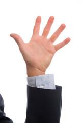 business man hand 5