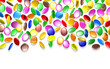 Caramelle Confetti Colorate-Colored Sweets Candies Background