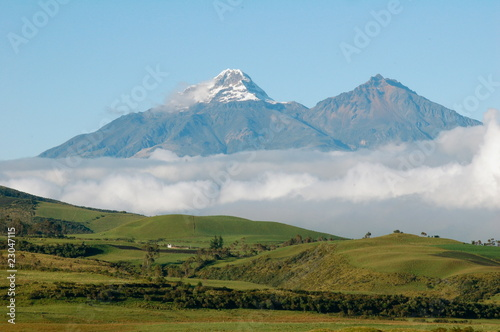 Volcano Cotopaxi, Ecuador