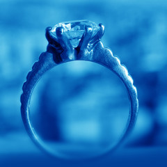 close up shot of a valuable ring
