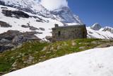refuge de montagne poster