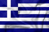 3D Flag of Greece