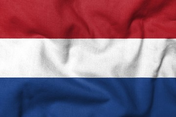 3D Flag of Netherlands