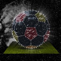 Sternenbild Fussball