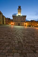 Toscana, Montepulciano: Palazzo Comunale in Piazza Grande