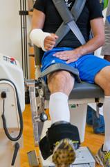 Riabilitazione gamba