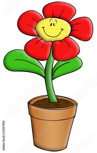 Blume blumentopf pflanze fensterbank garten balkon for Blumentopfe balkon