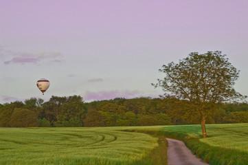Ballonfahrt im Kraichgau