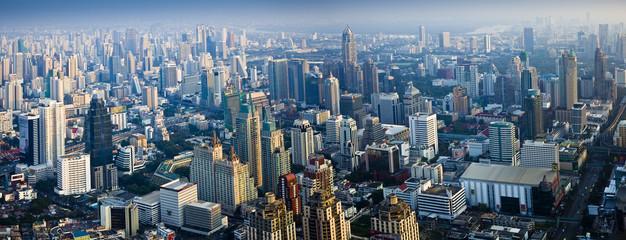 city skyline, bangkok