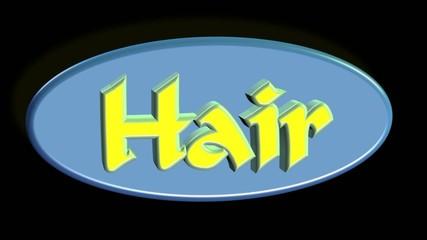 Hair / Cut - Video Concept