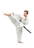 Fototapety Martial arts boy