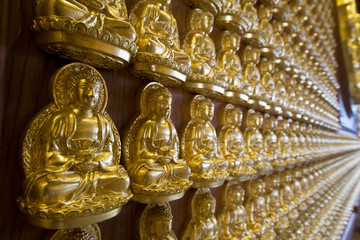 The hundred thousand budda wall