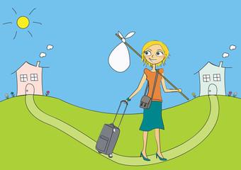 fem bagages déménagement