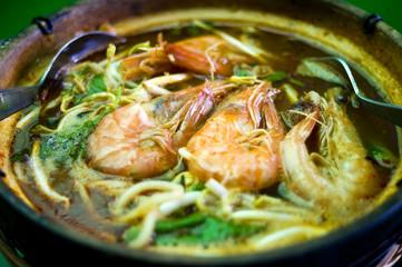 Noodle Shrimp Soup