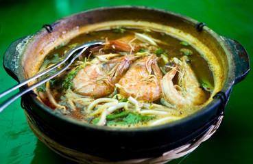 Noodle Prawn Soup