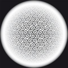 triskel background vector