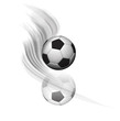 reflet ballon de football