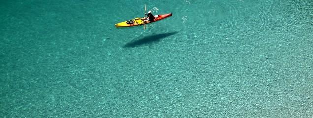 kayak de mer aux caraïbes,seakayaking