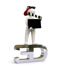 3D Man Movie