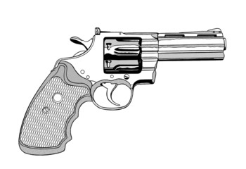 拳銃-357マグナム02