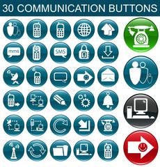 разноцветные кнопки коммуникации