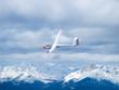 Leinwanddruck Bild - Glider in the air