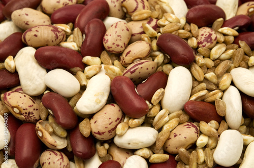 Farro and beans