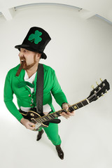 Rock and roll Leprechaun