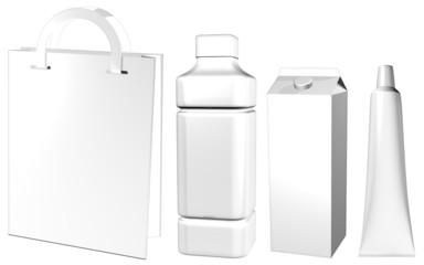 Contenitori di Carta e Plastica-Plastic and Paper Containers