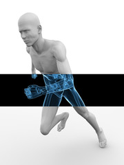 3d Modell - Jogger