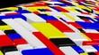 Mondrian style loop