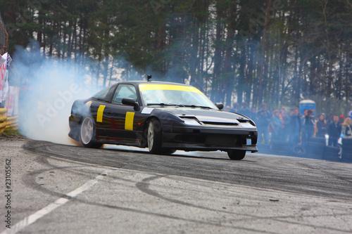 Foto op Canvas Snelle auto s Drift car