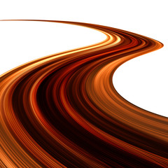 Onda di Cioccolato Astratto-Abstract Chocolate Wave