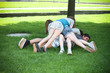 Jugendliche beim Spielen