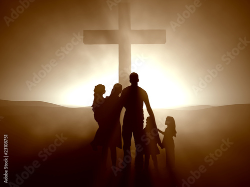 Family at the Cross - 23108751
