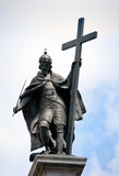 Kings Zygmunt's statue in Warsaw - 23111303