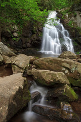 Spruce Flats Fall, the great smoky mountains national park