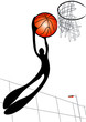 roleta: Basketball shadow man