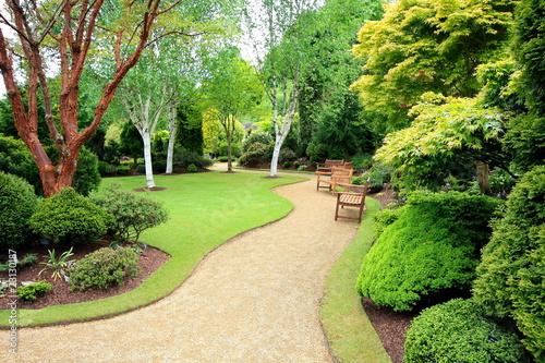 Poster Lente Lovely spring garden