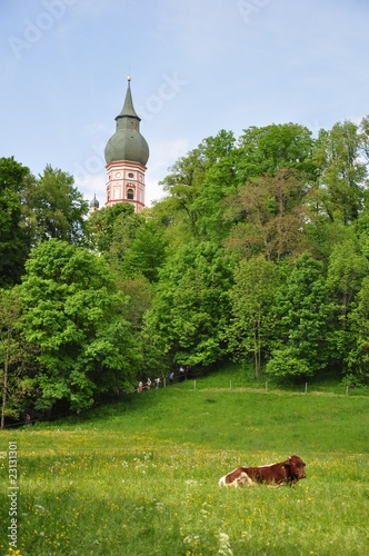 Andechs monastery near to Munich, Germany