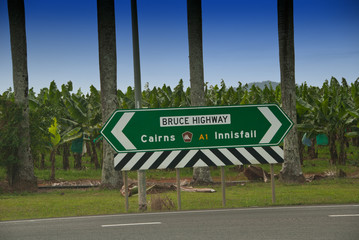 Road Signs in Queensland