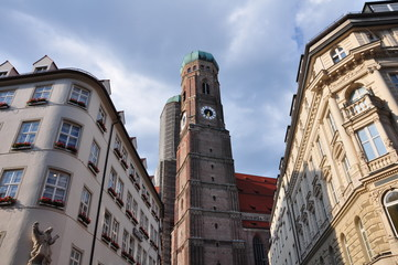 frauenkirche / cathedral in Munich / Germany