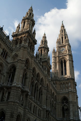 the viennese city hall