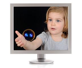 bubble bildschirm