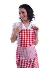 junge Hausfrau