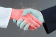 Handshake concept