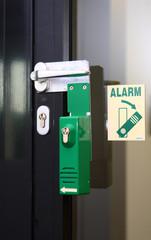 Flucht-Tür mit Alarm  © Matthias Buehner