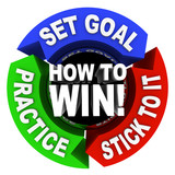 How to Win - 3 Arrows of Advice poster