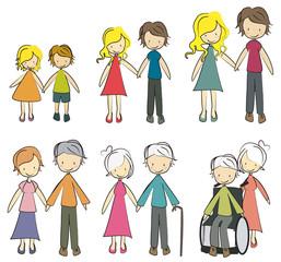 famille génération - 6 étapes
